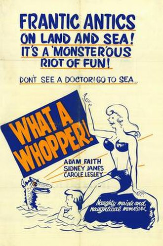 What a Whopper - Theatrical release poster