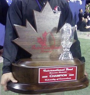 International Bowl - The International Bowl trophy (2009)