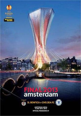 2013 UEFA Europa League Final - Image: 2013 UEFA Europa League Final programme