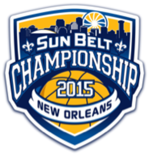 Sun Belt Conference Men's Basketball Tournament - Image: 2015 Sun Belt B Ball Logo