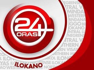24 Oras Ilokano - Image: 24 Oras Ilokano Titlecard
