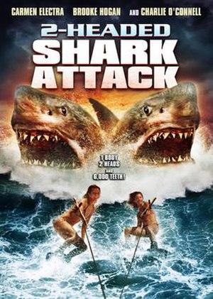 2-Headed Shark Attack - DVD cover