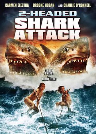 2-Headed Shark Attack - DVD cover