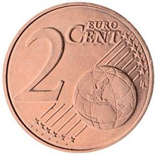 2 Euro Cent Coin Wikipedia