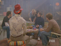 "The ""Circle"" was used to illustrate the teens' marijuana use, usually in Eric Forman's basement."