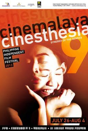 9th Cinemalaya Independent Film Festival - Official poster