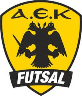 AEK Futsal - Image: AEK Futsal quality emblem