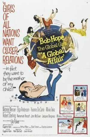 A Global Affair - Theatrical release poster
