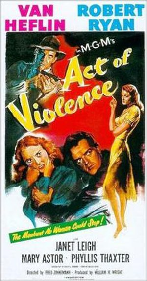Act of Violence - Theatrical release poster