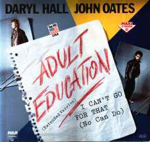 Adult Education (song) - Image: Adult Education