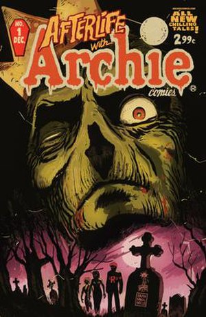 Afterlife with Archie - Cover of Afterlife with Archie No. 1. Art by Francesco Francavilla.