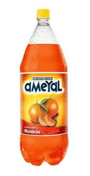 Ameyal - A bottle of Ameyal Mandarin.