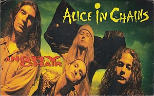 Angry Chair - Image: Angry Chair by Alice in Chains US commercial cassette
