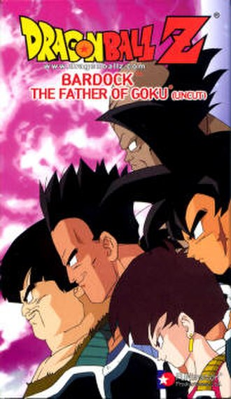 Dragon Ball Z: Bardock – The Father of Goku - North American uncut VHS cover