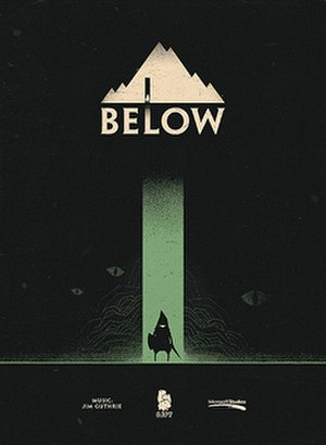 Below (video game) - Image: Below (video game) poster