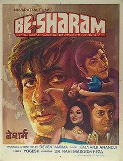 <i>Besharam</i> (1978 film) 1978 film