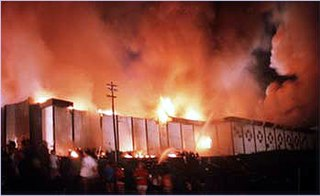 Beverly Hills Supper Club fire Nightclub fire in Kentucky in 1977