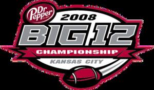2008 Big 12 Championship Game - 2008 Big 12 Championship logo.