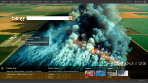 Bing Homepage in April 2011