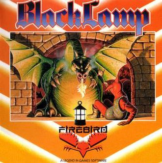 Black Lamp (video game) - Cover art