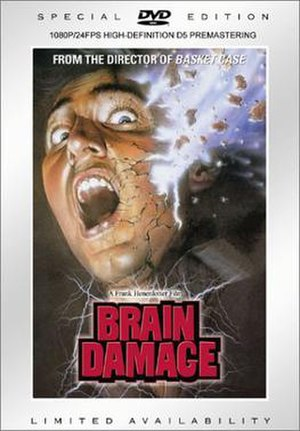 Brain Damage (film) - Limited edition DVD cover