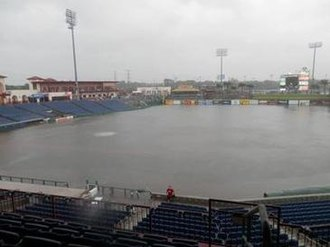 Spectrum Field - The flooded field caused by the rains of Tropical Storm Debby.