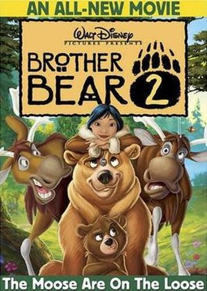 Brother Bear 2 - DVD cover
