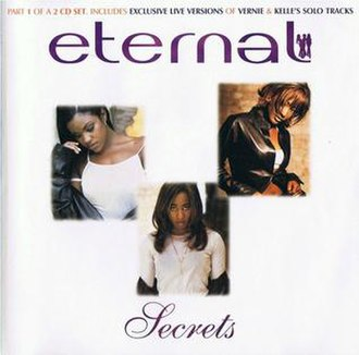 Secrets (Eternal song) - Image: CD Single Cover for Eternal Single Secrets CD1