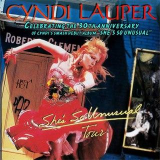 Shes So Unusual: 30th Anniversary Tour