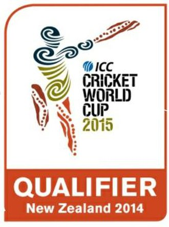 2014 Cricket World Cup Qualifier - Image: CWCQ2014Logo