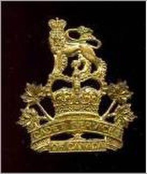 Cadet Instructors Cadre - Cadet Services of Canada (Army) cap badge