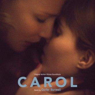 Carol (soundtrack) - Image: Carol Soundtrack Cover