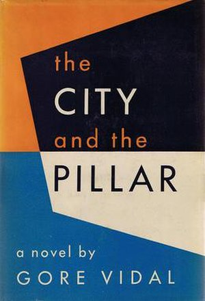 The City and the Pillar - Cover of the first edition