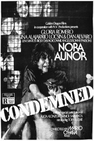 Condemned (1984 film) - Official movie poster