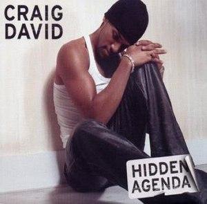 Hidden Agenda (Craig David song) - Image: Craig David Hidden Agenda (CD 1)