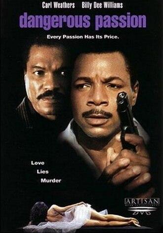 """Dangerous Passion - DVD Cover of """"Dangerous Passion""""."""