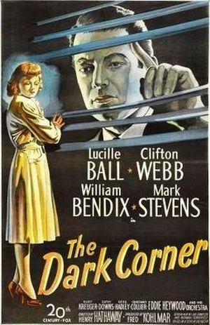 The Dark Corner - Theatrical release one sheet poster