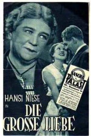 Die große Liebe (1931 film) - Film poster