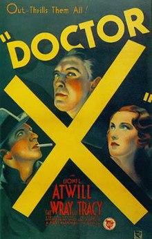 Docteur X affiche