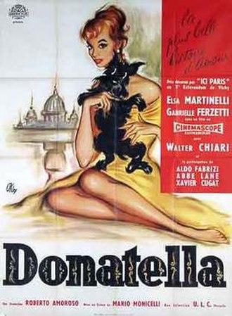Donatella (film) - Film poster