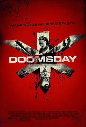 Doomsday (2008 film) - Theatrical release poster
