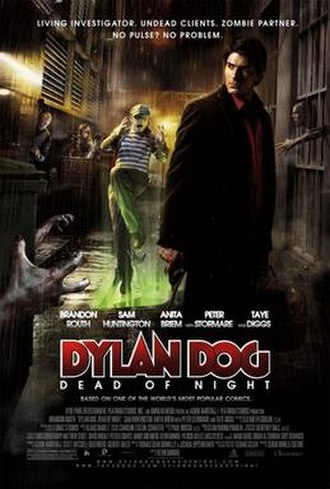 Dylan Dog: Dead of Night - Theatrical release poster