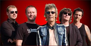 Eddie and the Hot Rods - Image: Eddie and The Hot Rods current line up