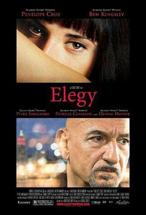 Elegy (film) - Theatrical release poster