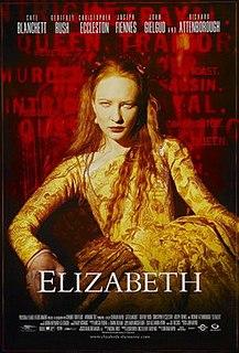 <i>Elizabeth</i> (film) 1998 biographical film directed by Shekhar Kapurr