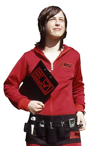 Ellie Harrison (artist) - Ellie Harrison, Daily Data Logger (2005)