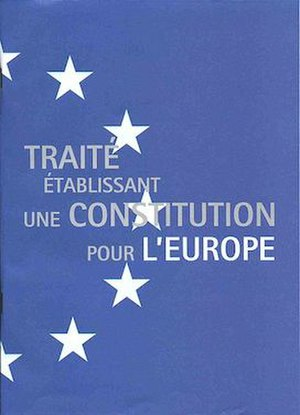 French European Constitution referendum, 2005 - The text of the European Constitution, as distributed to each French voter