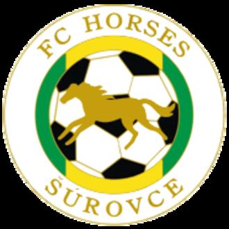 FC Horses Šúrovce - Image: Fc horses surovce