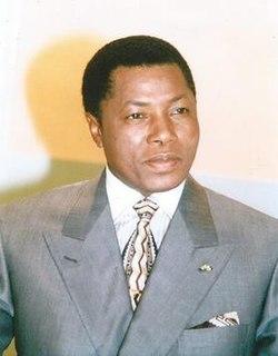 Ibrahim Baré Maïnassara 20th-century Nigerien President and military officer