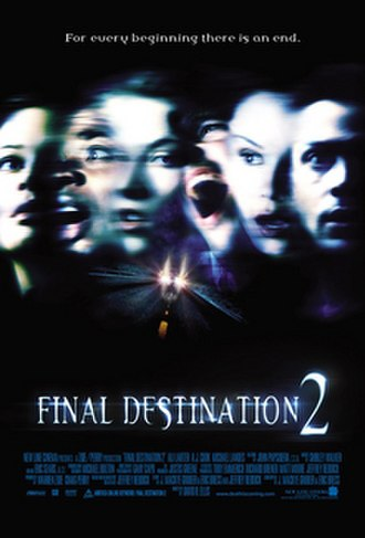Final Destination 2 - Theatrical release poster